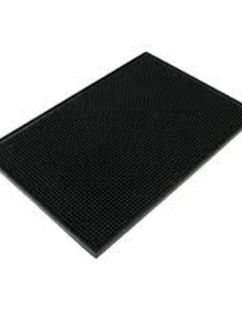 "THUNDER GROUP, INC Black Plastic Servicing Bar Mat 12x18"""