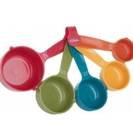 TRUDEAU Measuring Cups Colors Set of 5