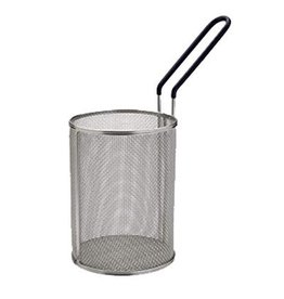 "WINCO WINCO Stainless Steel Pasta Basket 5.25"" dia x 7"" H"