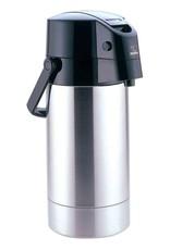 ZOJIRUSHI ZOJRUSHI Air Pot Stainless Steal Beverage Dispenser 3.0L