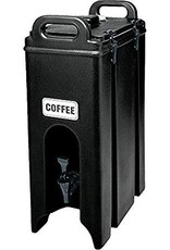 CAMBRO MANUFACT. COMPANY CAMBRO Camtainer 5gal Black Insulated Beverage Server