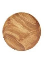 "PACIFIC MERCHANTS PAFICIC MERCHANTS 10"" Round Plate Acacia Wood"