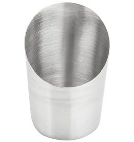 AMERICAN METALCRAFT, INC AMC Satin Angle Fry Cup s.s french fries metal silver