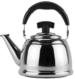 ARAMCO IMPORTS Tea Kettle Stainless Steal Steamer 2.5L