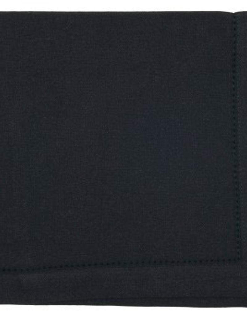 """NOW DESIGNS Now Design Napkin Hemstitch Black 20x20"""""""