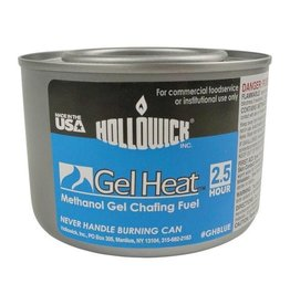 Hollowick Inside Sterno Blue Gel 2hr Methanol Chafing Fuel 7oz