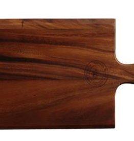 "UNIVERSAL ENTERPRISES, INC. Paddle Board 15.75x8.25"" wood Acacia"