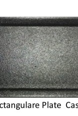 UNIVERSAL ENTERPRISES, INC. 14 x 5 Rectangular Plate Black