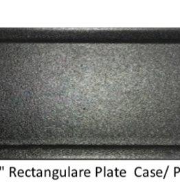 UNIVERSAL ENTERPRISES, INC. 14 x 5 Rectangular Plate Black 12/cs
