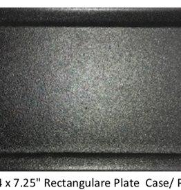 "UNIVERSAL ENTERPRISES, INC. 14 x 7.25"" Rectangular Plate Black 12/cs"