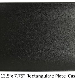 "UNIVERSAL ENTERPRISES, INC. 13.5 x 7.75"" Rectangular Platter Black"