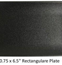 "UNIVERSAL ENTERPRISES, INC. 10.75 x 6.5"" Rectangular Plate Black"