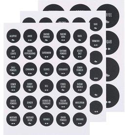 NOW DESIGNS NOW DESGIN Chalkboard Labels Set 72 Pantry Staples