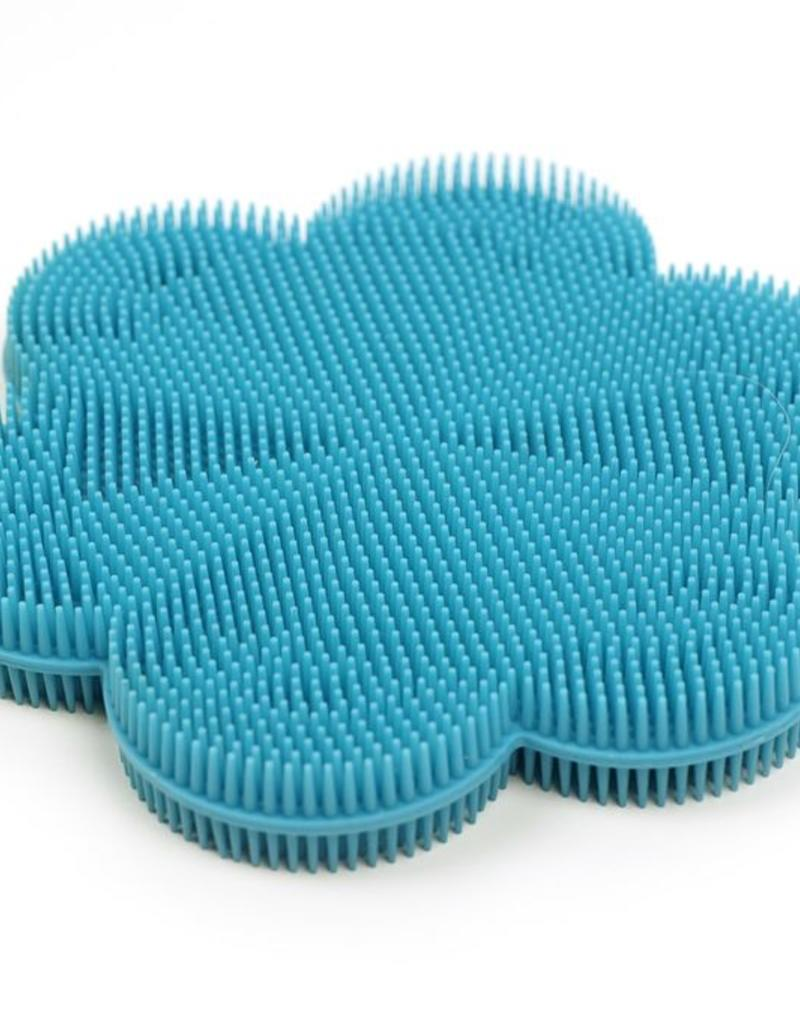 RSVP INTERNATIONAL INC RSVP Silicone Soft Scrubbers Turq