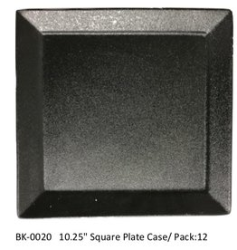 "UNIVERSAL ENTERPRISES, INC. 10.25"" Square Plate Black"