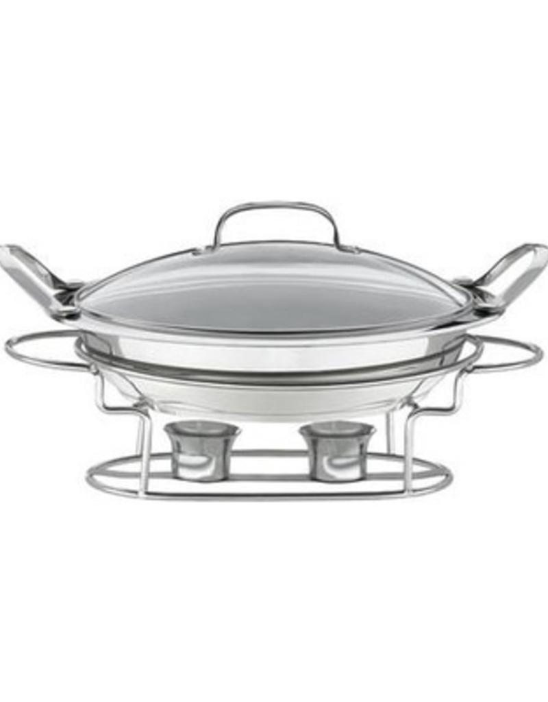 "CONAIR  CORP. CUISINART Chefs Round Buffet Server Chafing Dish 3qt 11"""
