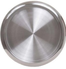 """OGGI Serving Tray Stainless Steal 14"""""""