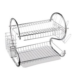 CRYSTAL PROMOTIONS Better Chef Dish Rack 16""