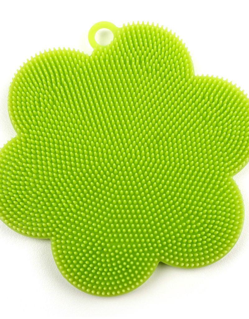 RSVP INTERNATIONAL INC RSVP Silicone Soft Scrubbers Green
