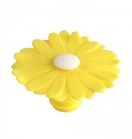 CHARLES VIANCIN Yellow Daisy Bottle Stopper