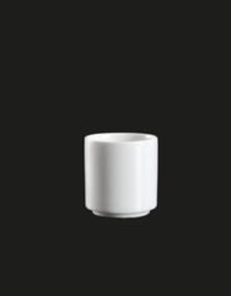 UNIVERSAL ENTERPRISES, INC. 1 Oz. Sake Cup. white stackable