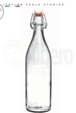 BORMIOLI ROCCO GLASS Bormioli CLEAR Giara Bottle 0.5L 17oz