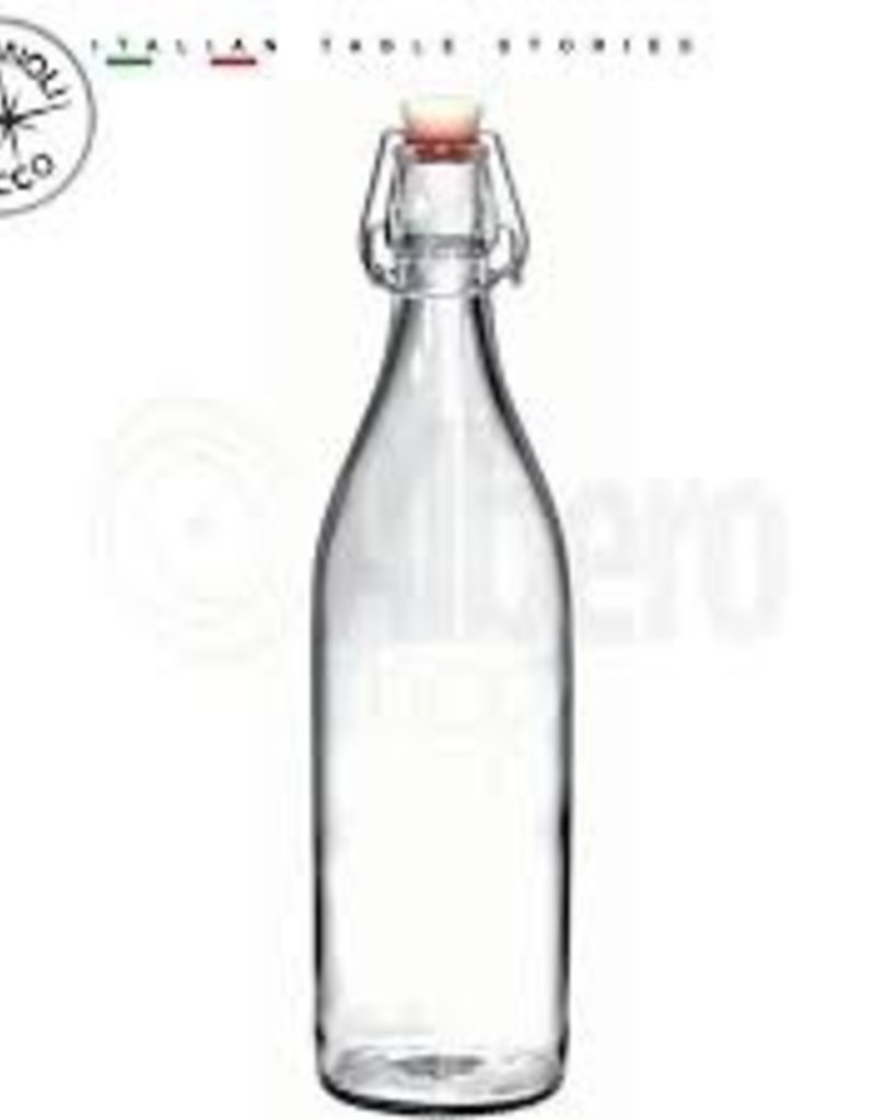 BORMIOLI ROCCO GLASS Bormioli CLEAR Giara Bottle 0.5L 17oz