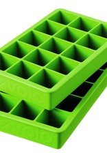 TOVOLO Perfect Cube Ice Trays Spring Green Set of 2