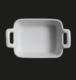 "UNIVERSAL ENTERPRISES, INC. 4.75X3.75"" Rectr w handle Baking Dish 24/cs"