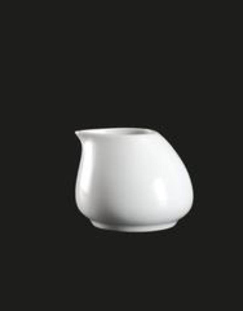 UNIVERSAL ENTERPRISES, INC. 3 Oz. Creamer  white porcelain