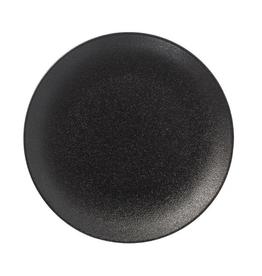 "UNIVERSAL ENTERPRISES, INC. 10"" Black Round Coupe Black Plate 12/cs"