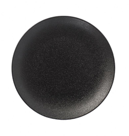 "UNIVERSAL ENTERPRISES, INC. 10"" Round Black Coupe Plate"