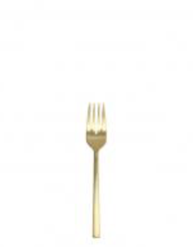 FORTESSA Arezzo Brushed Gold Salad Fork 7""