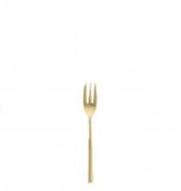 """FORTESSA Arezzo Gold Cake Fork 6.25"""""""