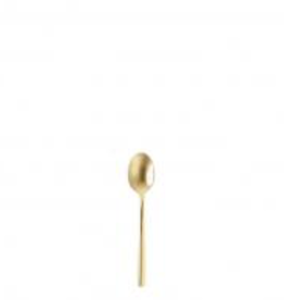 """FORTESSA Arezzo Gold Demi Espresso Spoon 5.1"""""""