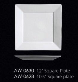 "UNIVERSAL ENTERPRISES, INC. 10.5"" Square Plate 12/cs"