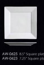 "UNIVERSAL ENTERPRISES, INC. 7.25"" Square Plate"