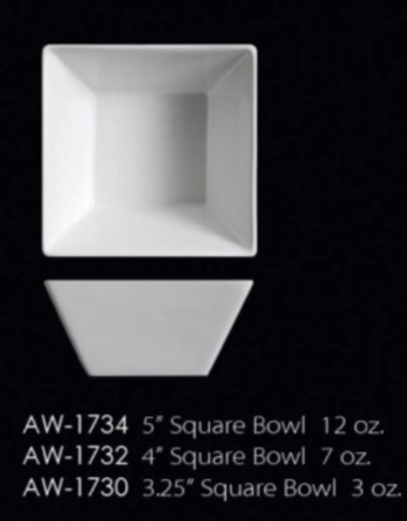 "UNIVERSAL ENTERPRISES, INC. 5"" Square Bowl 12 Oz."