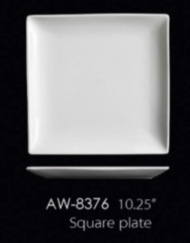 "UNIVERSAL ENTERPRISES, INC. 10.25"" Square Plate 12/cs"