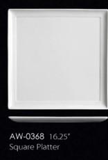 """UNIVERSAL ENTERPRISES, INC. 16.25"""" Square Platter 6/cs"""