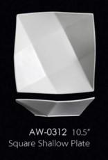 "UNIVERSAL ENTERPRISES, INC. 10.5"" Square Shallow Plate"