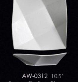 "UNIVERSAL ENTERPRISES, INC. 10.5"" Square Shallow Plate 12/cs"