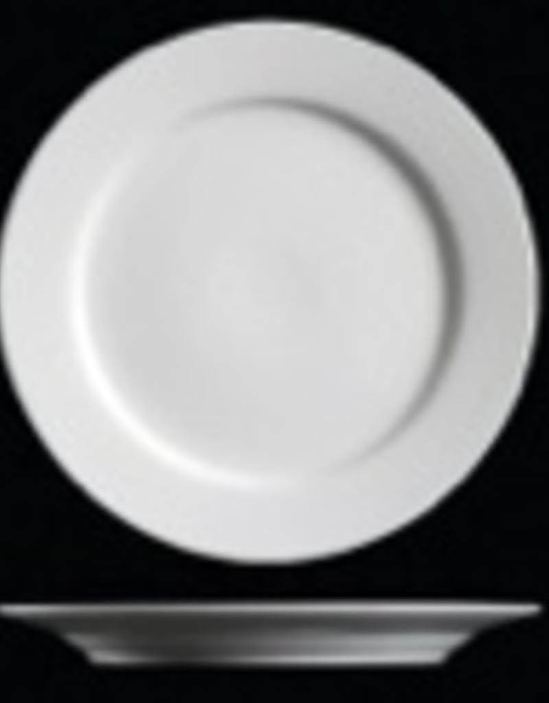 "UNIVERSAL ENTERPRISES, INC. 10.5"" Round white  Dinner Plate"