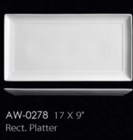 "UNIVERSAL ENTERPRISES, INC. 17 X 9"" Rectangular Platter 8/cs"