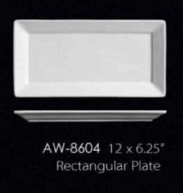 "UNIVERSAL ENTERPRISES, INC. 12 x 6.25"" Rectangular Platter 12/cs"