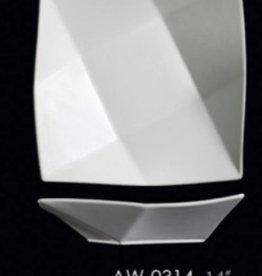 "UNIVERSAL ENTERPRISES, INC. 14"" Square Shallow Plate 6/cs"