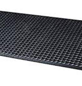 Black Rubber Floor Mat 3X5 ft