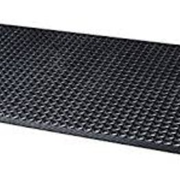 Update Black Rubber Floor Mat 3X5 ft