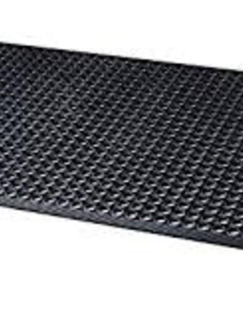 Update Black Rubber Floor Mat 3x5 Ft