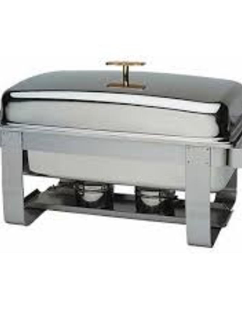 UPDATE INTERNATIONAL Grandeur Chafer Gold-accent 8qt